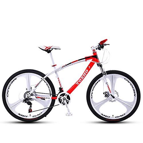 DX Vélo Enfants, Mountai, Étudiant, 24 Pouces, Spee Variable, Freins à Disque Adultes Hommes et Femmes sur la Montagne Vitesse Variable Absorption ock Jeunes étudiants Cyclistes