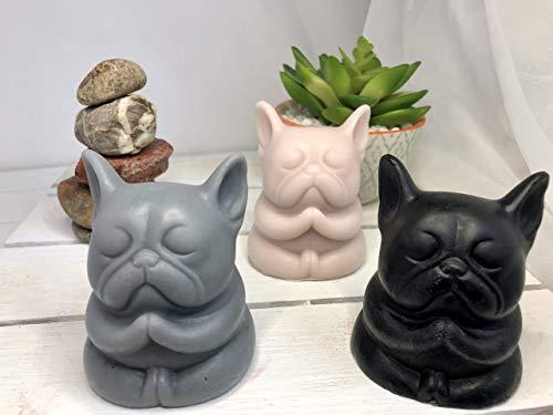 French Bulldog Soap, Zen Frenchie, Buddha, Yoga, meditating, praying French Bulldog home decor