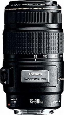 Canon 4,0 - 5, 6 75 - 300MM EF IS USM Objektiv