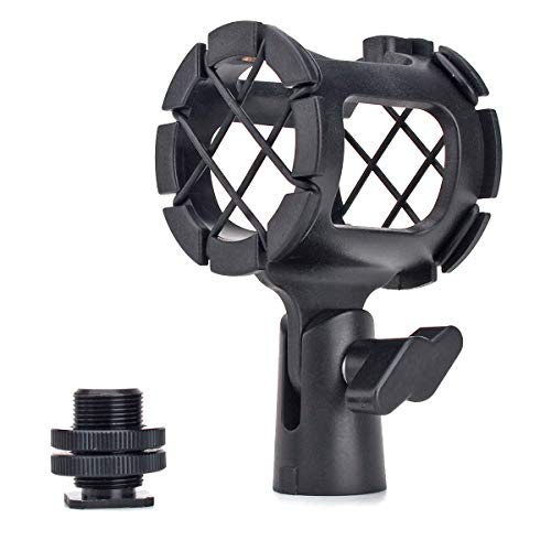 Weymic Microphone Mount Small Size Mics Holder Shock Mount For Shotgun Microphone or Small Size Microphone