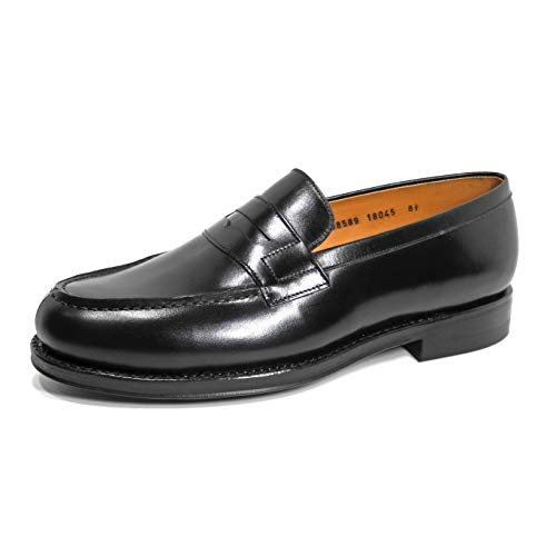 JALAN SRIWIJAYA ペニーローファー (98589/Calf/18045/Dainite) Black UK 7.0