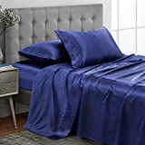 Best Satin Sheets - Vonty Satin Sheets Queen Size Silky Soft Satin Review