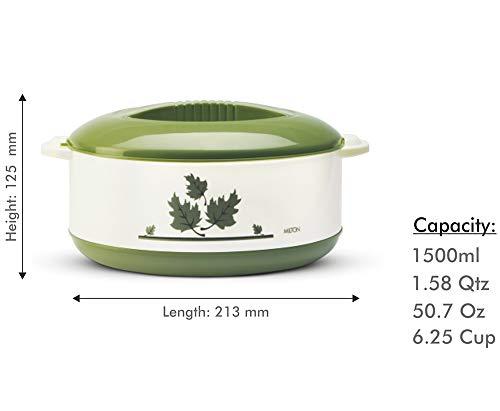 Milton Orchid Casserole, 1.5 Litres, Green