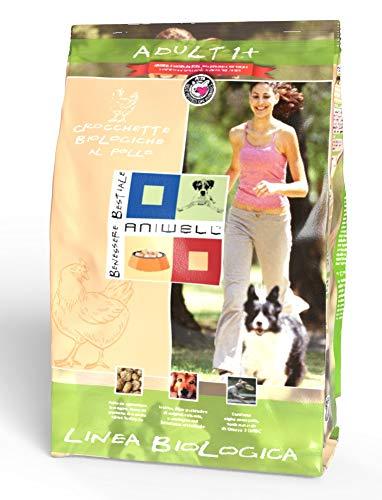 Aniwell - Crocchette per Cani Biologiche al Pollo - Adult 1+, Sacco da 5 kg