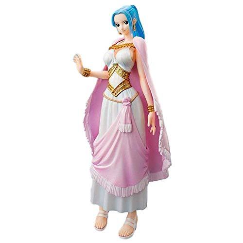 ymdmds Alto 22 cm One Piece New World Princess VIVI Pico Sculpture Boxed Sculpture Modelo Artwork Anime