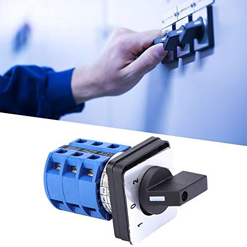 Interruptores, Interruptor Giratorio de Diseño Cerrado de Baja Resistividad para Fábricas Talleres, Equipos de Producción Industrial, Iluminación Eléctrica, Etc.