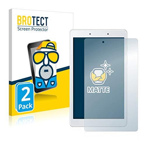 BROTECT 2X Entspiegelungs-Schutzfolie kompatibel mit Samsung Galaxy Tab A 8.0 WiFi 2019 Bildschirmschutz-Folie Matt, Anti-Reflex, Anti-Fingerprint
