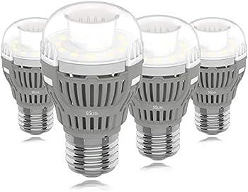 4-Pack Sgleds 8W Daylight LED Light Bulbs