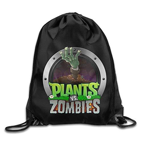 SOOPTY Plants VS Zombies Unisex Drawstring Travelling Bag