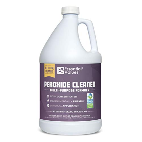 Peroxide Cleaner 5% (Gallon / 3.78 L), Safer Choice Certified | Made in USA, Multi-Purpose - Extra Concentrated - Ideal for Residential | Commercial | Retail | Hospital Facilities | Restaurants & More