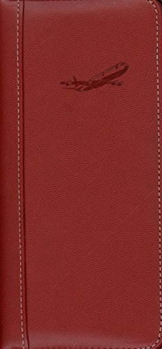 Pierre Belvedere Executive Travel Wallet, Red (071440)