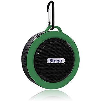 KEPTFIT Bocina Bluetooth Portátil contra Agua con Manos Libres, Ideal para Exteriores, Batería Recargable hasta 6Horas de Uso Continuo