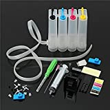 Printer CISS Ink Tank Kit Universal for HP, Canon, Brother & Epson Printers Multi Color Ink Cartridge Multi Color Ink Cartridge