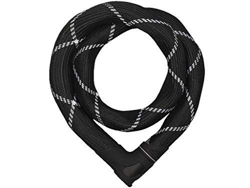 Abus 8210/110 - Antifurto bicicletta Steel-O-Chain Iven, 111 cm, Nero (black)
