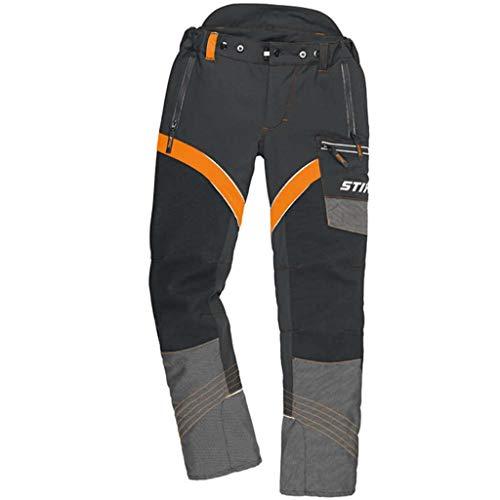 Stihl ADVANCE X-FLEX Bundhose mit Schnittschutz schwarz / warnorange XXL