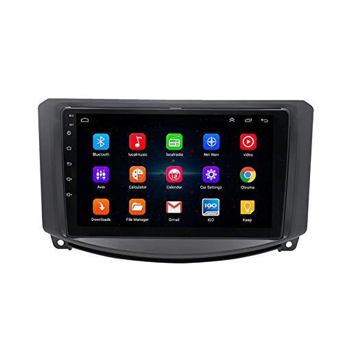 Reproductor Multimedia Estéreo para Automóvil Android Unidad principal Navegación GPS 9' HD IPS Pantalla Táctil Sat Nav WiFi SWC Receptor Video Radio Coche Bluetooth para Venucia R30