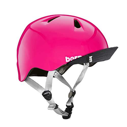 Bern Kinder Kinderhelm Tigre Helm, pink-glänzend, Gr. XXS (47-51cm)