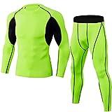 Conjunto de Ciclismo a Prueba de Viento Jersey Ropa Deportiva para Hombres,Camiseta de Ropa de Ciclismo de Manga Larga Anti-Sudor de Secado rápido Trajes de Ciclo al Aire Libre para Bicicletas