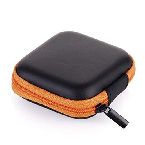 Coin portemonnee draagbare siliconen portemonnee mini ronde oor tas SD kaart kabel lijn opslag sleutel portemonnee