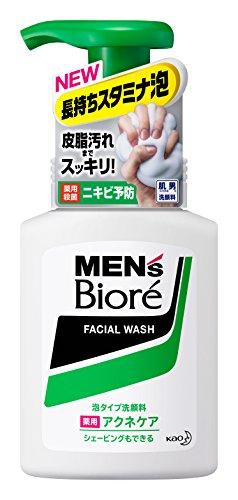 メンズビオレ 泡タイプ薬用アクネケア洗顔 本体 150ml