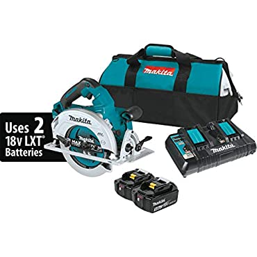 Makita XSH06PT 18V X2 LXT Lithium-Ion (36V) Brushless Cordless 7-1/4 Circular Saw Kit (5.0Ah)