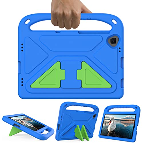 GOZOPO Niños Funda para Lenovo Tab M10 FHD Plus 10,3 pulgadas (TB-X606F/TB-X606X), Soporte Función con asa a prueba de golpes Funda - Azul