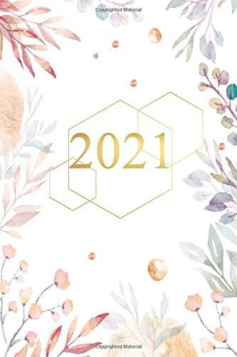 2021: Lingguhan Planner Kasama ang Buwanang Mga Kalendaryo, Piyesta Opisyal, Upang Gumawa ng Mga Listahan at Mga Pahina ng Tala (2021 Dated 12 Month Planner (Jan - Dec) with Calendars [Tagalog])