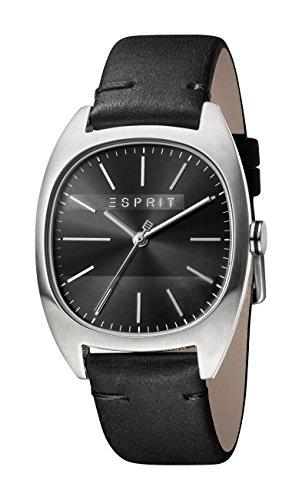 Esprit Herren Analog Quarz Uhr mit Leder Armband ES1G038L0025