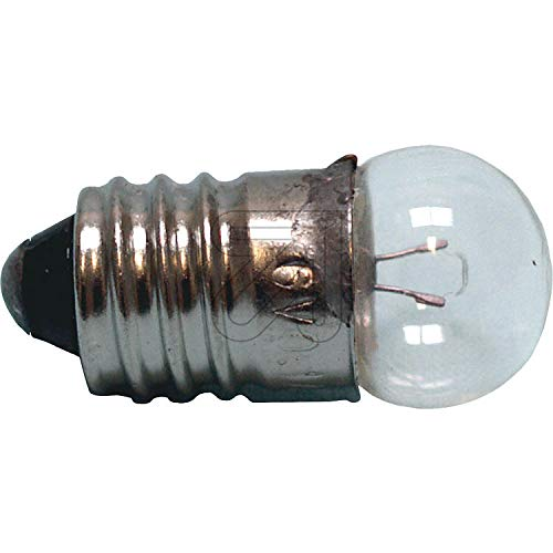 Preisvergleich Produktbild Kugellampe Kleinlampe 10 Stück E 10 3, 5 V 0, 2 A klar