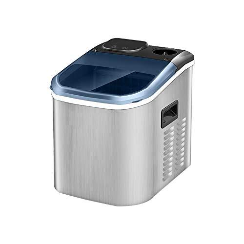 HEMFV Tragbare Eismaschine EIS-Hersteller-Maschine, Zähler Top Eisherstellungsmaschine, Energiespar Aufsatz- tragbare Eismaschine Elektro-EIS-Hersteller
