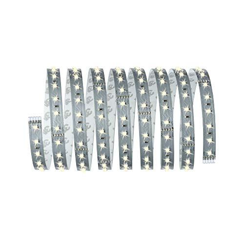 Paulmann 70827 LED Stripe MaxLED 500 incl. 1x16 Watt dimmbar Lichtband Silber Lichtstreifen Kunststoff LED Band 2700 K