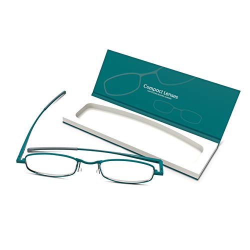 Compact Lenses Flat Folding-Reading Glasses-Surf +2.0