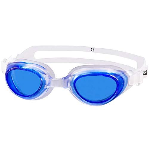 Aqua-Speed Kids 5908217629319 Agila Youth - Gafas de natación, Talla única, Transparente y Azul