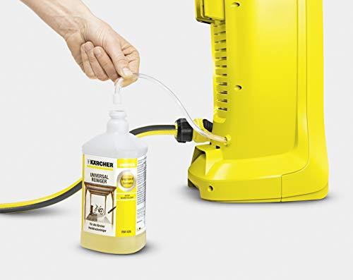 Kärcher Akku Hochdruckreiniger K 2 Battery (Druck: 110 bar, Fördermenge 340 l/h, 2 Strahlrohre, Wasseransauganschluss, 4 m Schlauch, bequem verstaubar, Quick-Connect) - 8