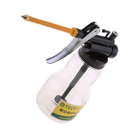 joyMerit Auto-Universal Langdüse Hochdruckpumpe Öler Schmieröl zugeführtes Öl Werkzeug Sprühflasche 300ml Kapazität