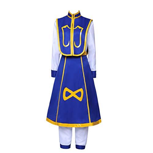 SBluuCosplay Kurapika Kurta - Disfraz de cosplay (talla XL)