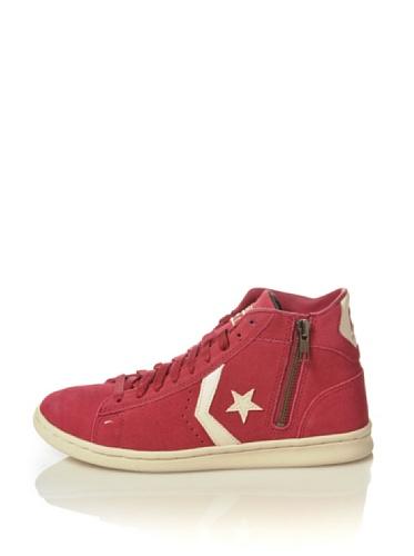 Converse Sneaker PRO Leather Lp Mid Suede Zip T Cipria/off White EU 40