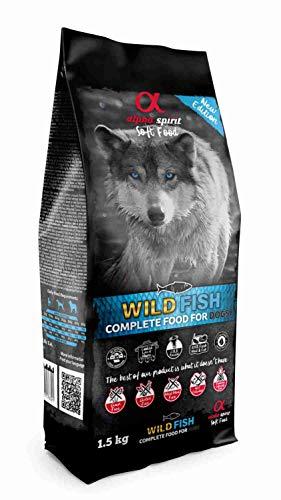 ALPHA 3002201 Spirit Canine Adult Pescado HUMEDO MONODOSIS 1,5KG, Negro, Mediano, 1500