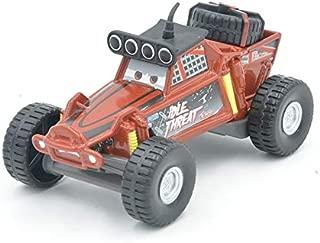 Disney Disney Pixar Cars 2pcs No.95 SUV Lightning McQueen and Idle Threat Big Wheel Brown Beach Buggy Diecast Alloy Model Cars Toys Idle Threat