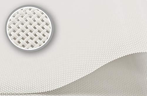 Tapis de sol en plastique lavable Beige clair, beige, Lot de 5