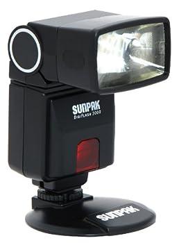 SUNPAK DF3000N Digital Flash for Nikon R  DSLR Cameras
