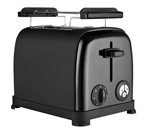 Venga! VG TO 3004 Toaster – 950W, Edelstahl, Kunststoff, Schwarz