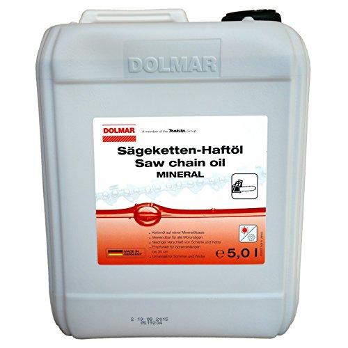 Sparpack 4 x 5 Liter Dolmar Sägeketten Öl mineralisch