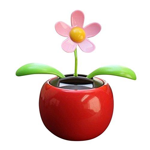 Anty-ni voiture soleil fleur mignon solaire swing Fleur dansante /à /énergie solaire