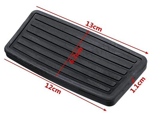 zxsautoparts for Brake at Auto Pedal Pad Cover Accord Civic CR-V Pilot Odyssey RL