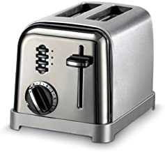 Cuisinart Metal Classic CPT-160 Two Slice Toaster (Black/Chrome)