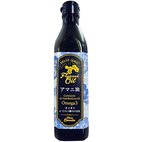 成城石井『カナダ産アマニ油(フラックスシードオイル)』
