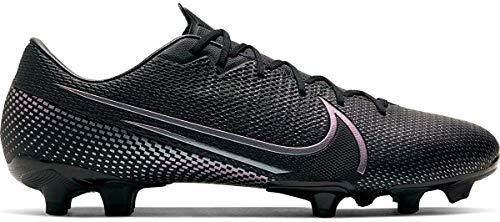 Nike Vapor 13 Academy FG/MG, Botas de fútbol para Hombre, Negro Black Black 010, 47.5 EU