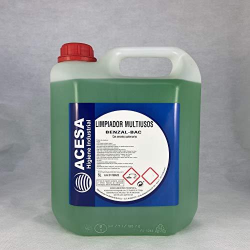 Limpiador Multiusos Antibacterias Desinfectante BAC-97 ACESA Formato Industrial 5 Litros