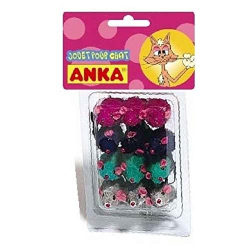 Anka - Jouet souris 12 pces